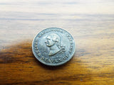 Antique George Washington Temperance Ten Dollar 1 Cent Coin
