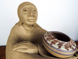 Signed Laguna Native American Pottery Sculpture ~ Lynn Hone