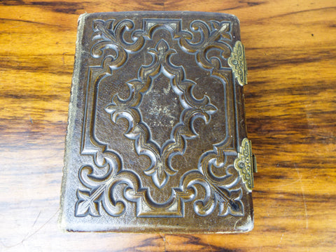 Antique 1870s Miniature Photograph Album