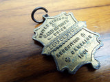 Antique 1910 Religious Band of Hope Union Medal