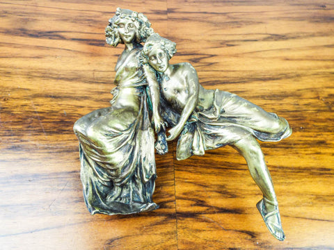 Antique Carl Kauba Art Nouveau Bronze Sculpture
