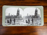 Antique 1906 San Francisco Earthquake Original Stereoview Cards
