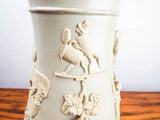 Antique 19th C German Villeroy & Boch Walking Stein