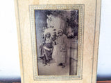 Antique Tintype of Native American Indian Chief