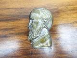 Antique Political Benjamin Harrison Metal Vesta Match Case