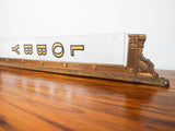Art Deco Movie Theater Brass Sign ~ Lobby