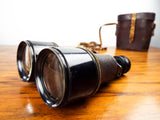 Antique British WW1 Officers Binoculars ~ J Cripps 1916