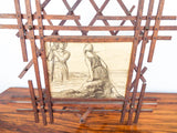 Antique Arts & Crafts Magazine Book Newspaper Rack