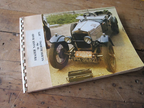 Frazer Nash Nurburgring Raid 1971 Classic Cars Pictures Scrapbook - Yesteryear Essentials  - 1