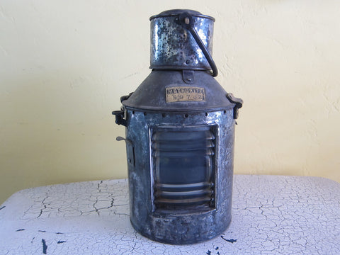 Antique Meteorite Ships Nautical Lantern - Yesteryear Essentials  - 1