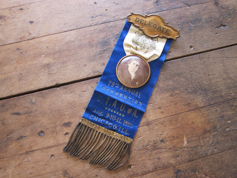 Pre Prohibition CTAU of A Temperance Ribbon