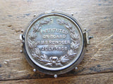 Antique Royal Navy Society Pinback Medal - Yesteryear Essentials  - 3