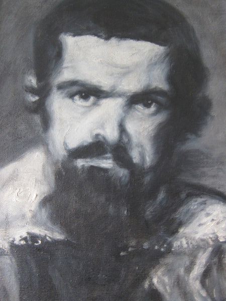 Oil Painting Black And White Paintings Oil On Canvas