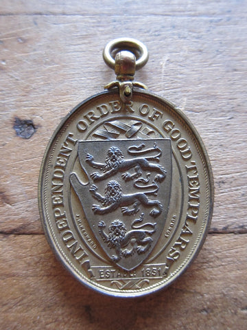 Antique Temperance Movement Anti Alcohol IOGT Medal by J R Kenward - Yesteryear Essentials  - 1