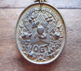 Antique Temperance Movement Anti Alcohol IOGT Medal by J R Kenward - Yesteryear Essentials  - 3
