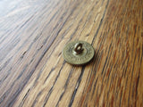 Antique Temperance Cold Water Army Brass Button - Yesteryear Essentials  - 9