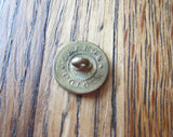 Antique Rare Temperance Movement Cold Water Army Brass Button - Yesteryear Essentials  - 2
