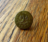 Antique Temperance Cold Water Army Brass Button - Yesteryear Essentials  - 1