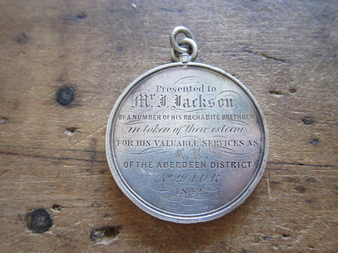 Victorian Silver Temperance Movement IOR Medal - Yesteryear Essentials  - 1