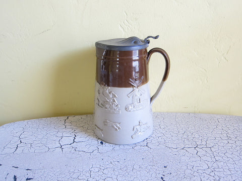 Victorian Royal Doulton Lambeth Jug - Yesteryear Essentials  - 1