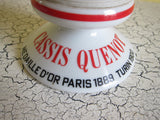 French Ceramic Match Holder for Cassis Quenot - Yesteryear Essentials  - 3