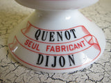 French Ceramic Match Holder for Cassis Quenot - Yesteryear Essentials  - 4