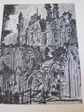 First World War French Ruins of War Art Prints Book - Yesteryear Essentials  - 4