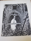 First World War French Ruins of War Art Prints Book - Yesteryear Essentials  - 8