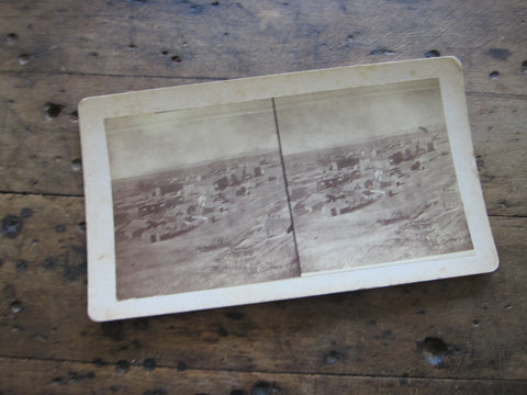 1880 Stereoscope Card by Charles Emery 1880, Silver Cliff Colorado - Yesteryear Essentials  - 1