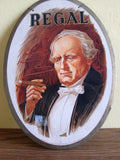 1920's Tobacciana Regal Cigar Advertising Sign - Yesteryear Essentials  - 5