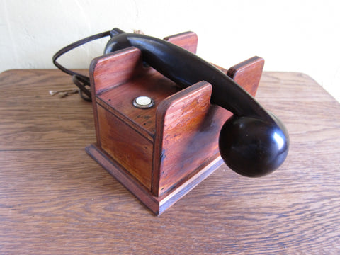 1930's Vintage Bakelite Telephone Receiver - Yesteryear Essentials  - 1