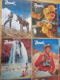 Vintage 1950's Desert Design Magazines Complete Year 1956 - Yesteryear Essentials  - 4