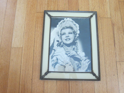Vintage Framed Autograph Photo of Diana Galen - Yesteryear Essentials  - 1