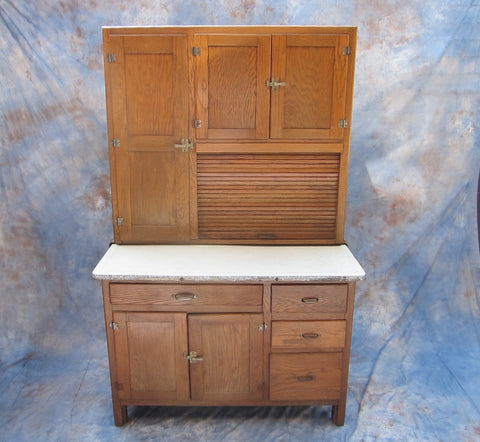 Antique Kitchen Hoosier Buffet Cabinet - Yesteryear Essentials  - 1