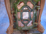 Antique French Enamel Wood Burning Stove by Deville Cie - Yesteryear Essentials  - 10