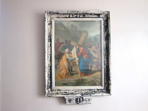 Antique Stations of the Cross Print by Turgis A Paris (VI) - Yesteryear Essentials  - 1