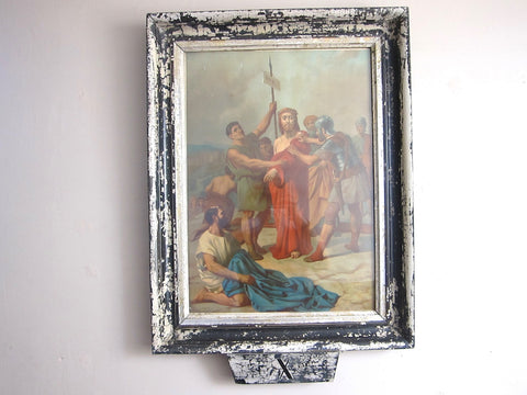 Antique Stations of the Cross Print by Turgis A Paris (X ) - Yesteryear Essentials  - 1