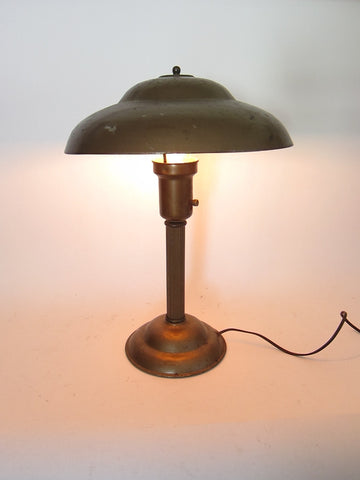 1950's Metal Mid Century Modern Desk Lamp - Yesteryear Essentials  - 1
