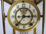Art Nouveau Jenning Brothers Mantel Clock - Yesteryear Essentials  - 9