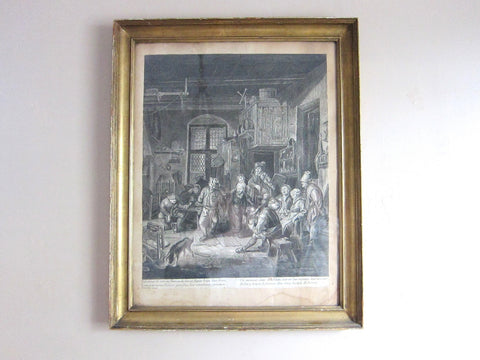 17th Century Lithograph by David Teniers (1600s) - Yesteryear Essentials  - 1