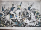 US Cavalry Antique Print of Mexican American War (1843-44) - Yesteryear Essentials  - 2