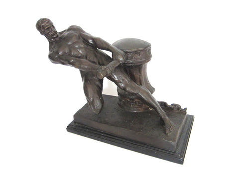 Art Deco French Bronze Sculpture by Henri Bargas - Yesteryear Essentials