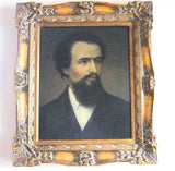Vintage Male Portrait Painting - Oil on Canvas - Yesteryear Essentials  - 11