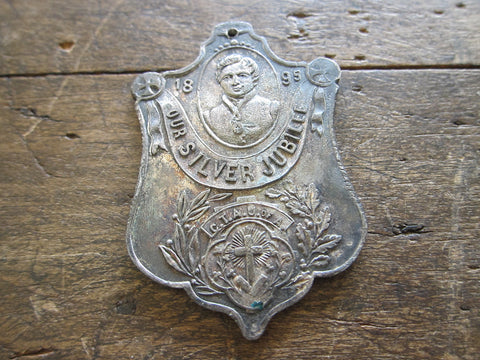 Temperance Movement 1895 Silver Jubilee CTAU of A Medal - Yesteryear Essentials  - 1