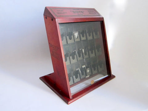 Vintage Boye Sewing Needles Advertising Display Case with Needles - Yesteryear Essentials  - 1
