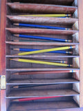 Vintage Blaisdell Pencils Counter Advertising Display Case - Yesteryear Essentials  - 11