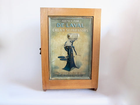Vintage Advertising DeLaval Cream Separators Counter Advertising Display Case - Yesteryear Essentials  - 1