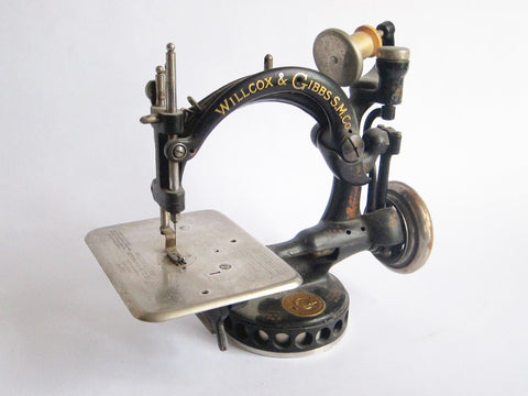 Antique Sewing Machine by Willcox and Gibbs Sewing Machine Co - Yesteryear Essentials  - 1