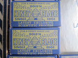 Vintage Advertising Shaving Blades Gold'N Honey Store Display - Yesteryear Essentials  - 4