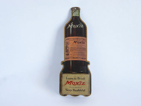 Vintage Advertising Moxie Match Holder - Yesteryear Essentials  - 1